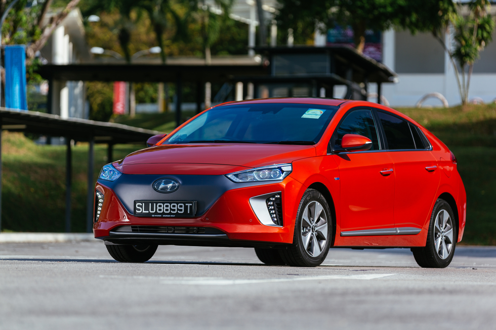 Hyundai's unique Ioniq