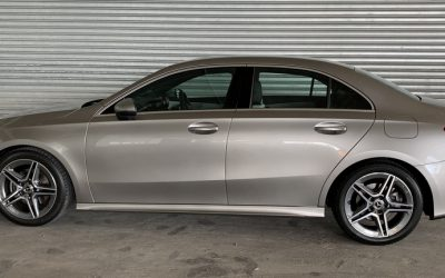 Baby Drive: A-Class Saloon