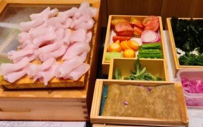 Michelin-starred Kimura's special sushi